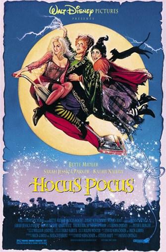 Movie poster for Hocus Pocus