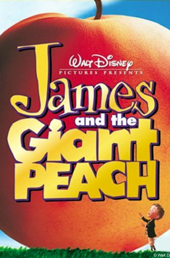 Movie poster of James and the Giant Peach