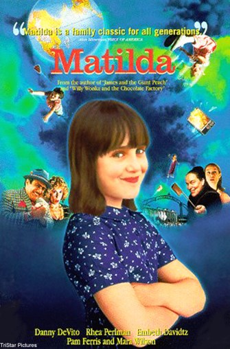 Movie poster for Matilda